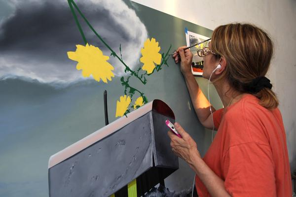 LISA painting Portentous Rhapsody
