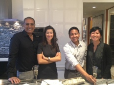 Soli with the Ehrlich Architects team