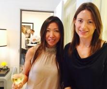 Interior Designer Julia Wong and Robb Report Samantha Brooks