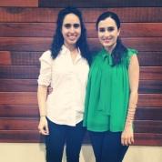 Ladan Bral and Roxie Sarhangi