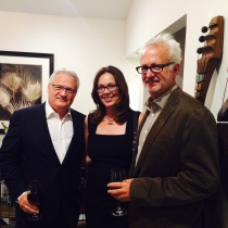 Interior Designer John Everage, Interior Designer Kathryn Waltzer, and architect Doug Burdge