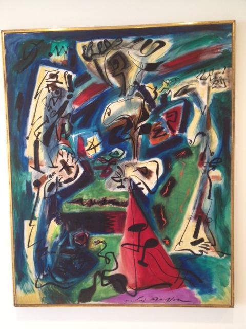 Andre Masson surrealist masterpiece 1910 SD Museum of Art