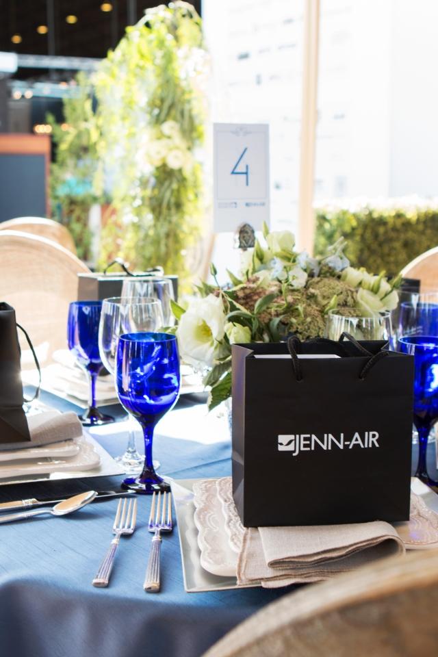 Snyder Diamond and JENN-AIR co-host Le Jardin at the Hangar luncheon at West Edge Design Fair. October 23, 2015. Santa Monica, CA.