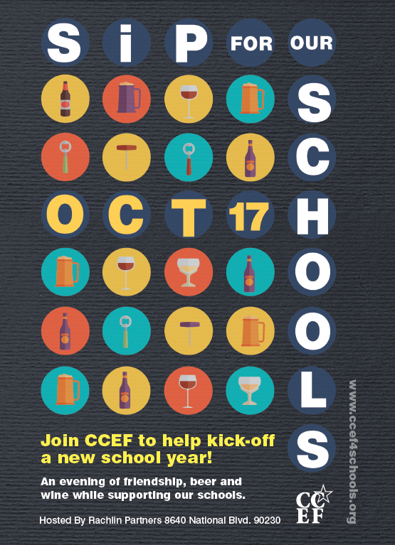 Upcoming Event Culver City Education Foundation Ccef