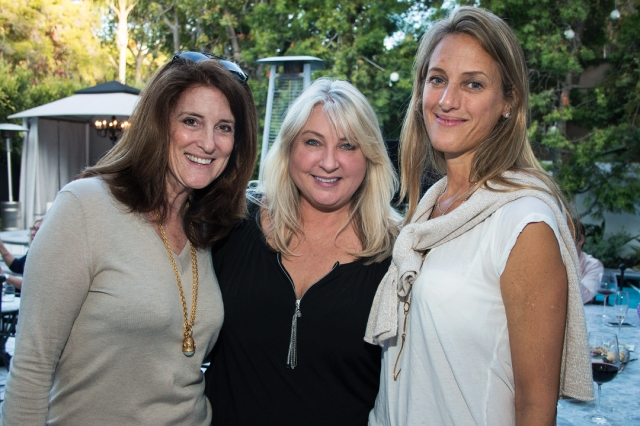Marion Lowry, Laurie Haefele, and Shelley Starr